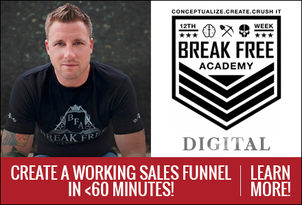 Create a working sales funnel in less than 60 minutes