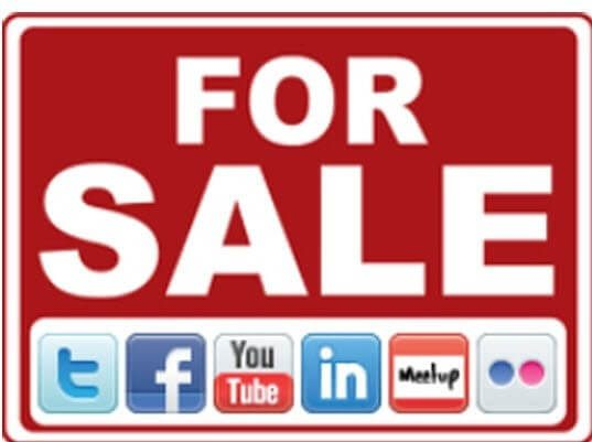 social media for sale