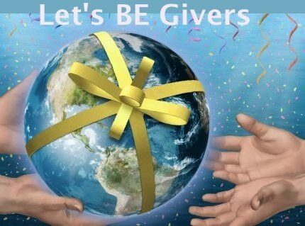 Let's be givers