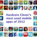Hardcore Closer's Most Used Mobile Apps of 2012