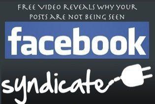 Online Marketing Ideas: Facebook Syndication