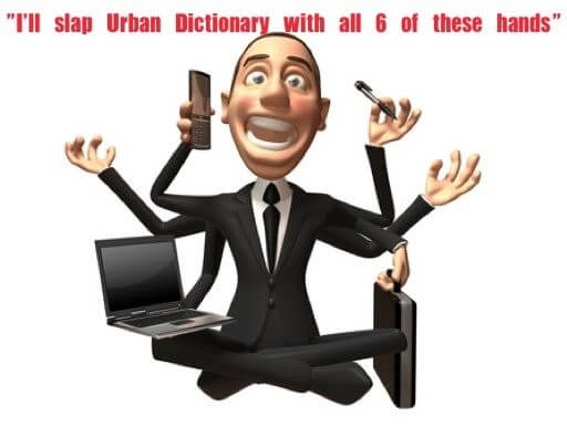 The definition of a salesman according to urban dictionary