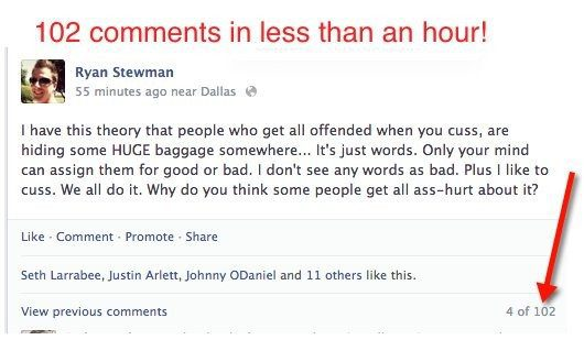 How To Get Over 200 Facebook Comments Fast