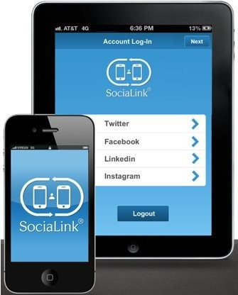 "Say ""Bye-Bye"" to Business Cards with the Socialink App"