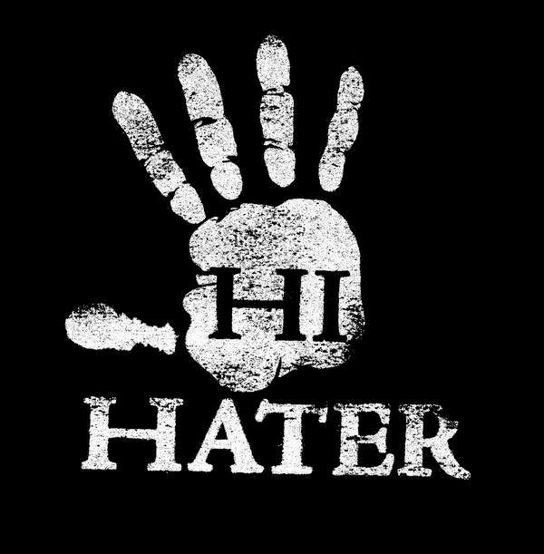 The Shaking Heads of Haters