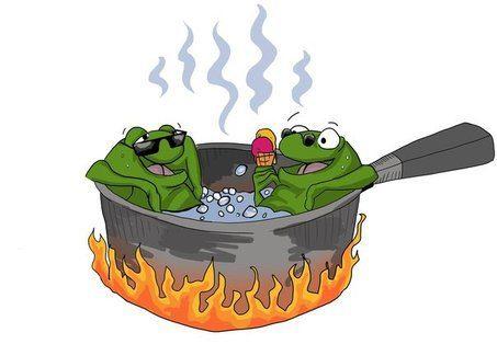 Rockstar Closer Radio: The Boiled Frog Theory