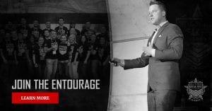 Entourage Facebook Ad