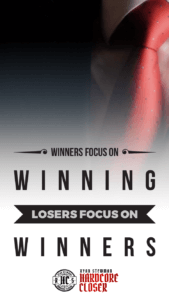 Winners Focus On