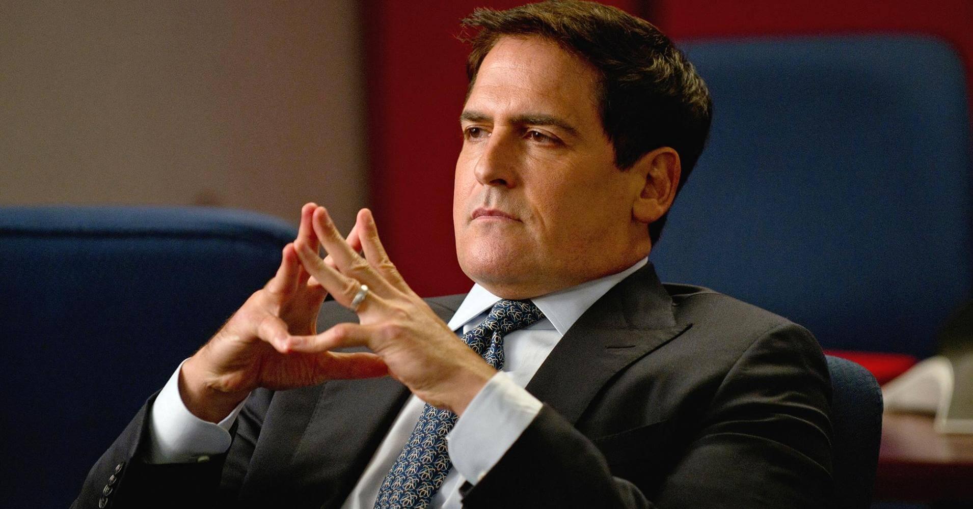 Why Billionaire Mark Cuban Says Saving Money Is A Bad Idea