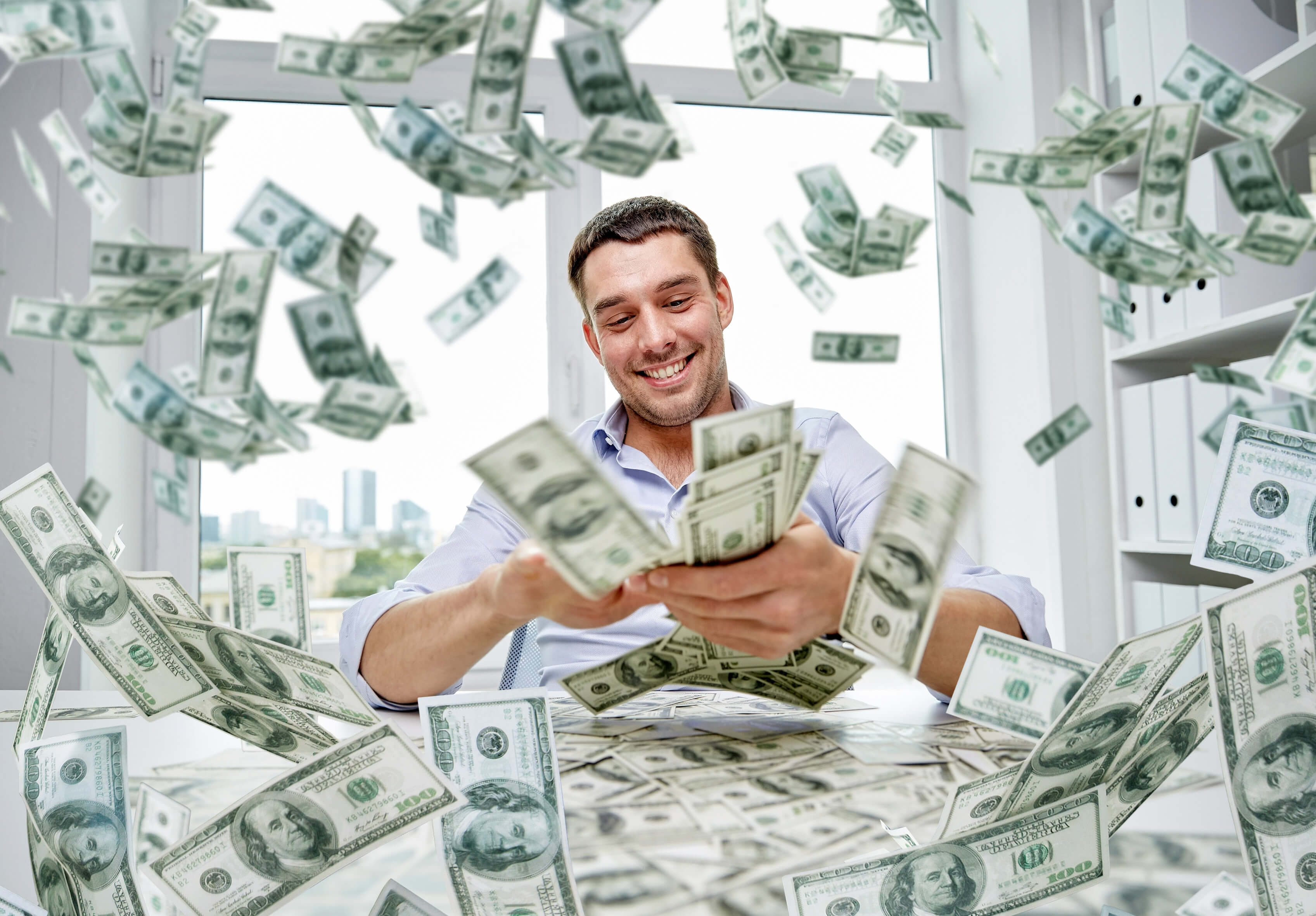 Three Reasons Salespeople Like To Blow Their Money