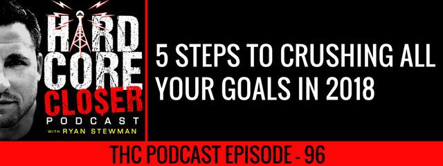 THC Podcast 096: 5 Steps To Crushing All Your Goals In 2018