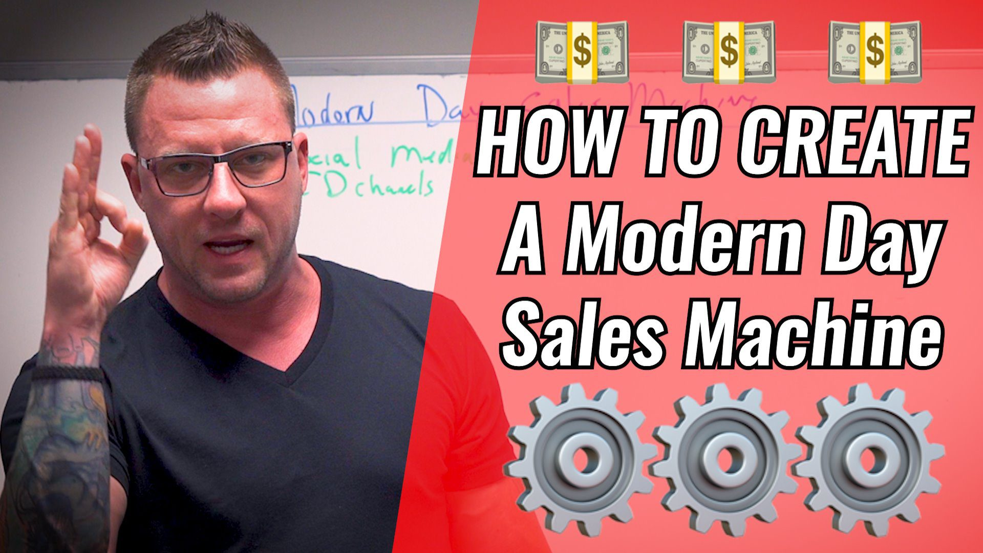 How To Create a Modern Day Sales Machine [Video]