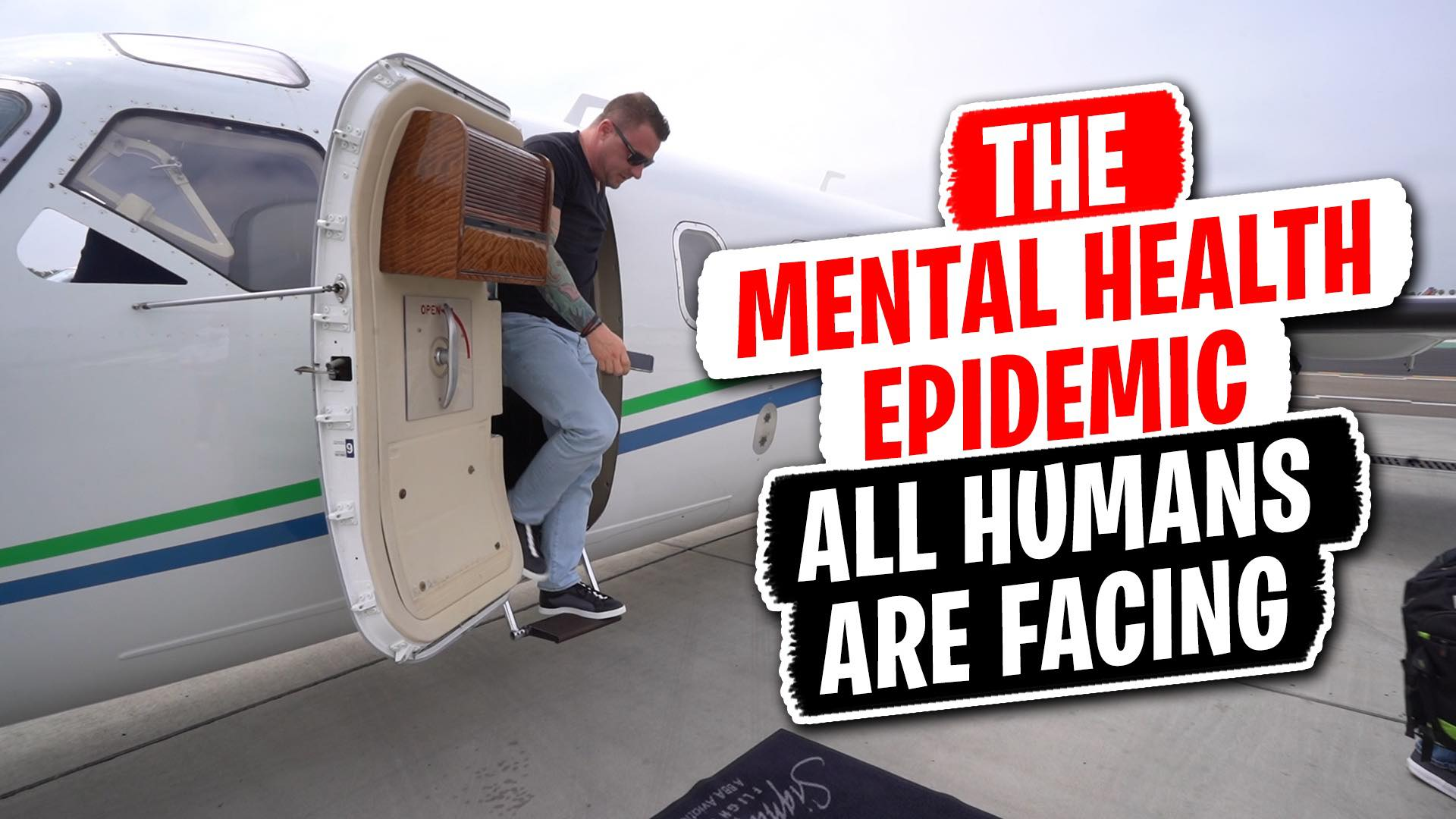 The Mental Health Epidemic All Humans Are Facing [VIDEO]