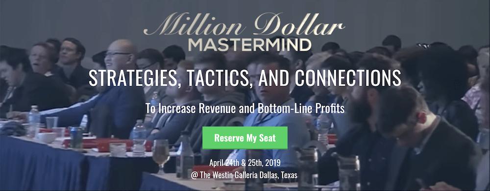 Million Dollar Masterminds (Speaking)