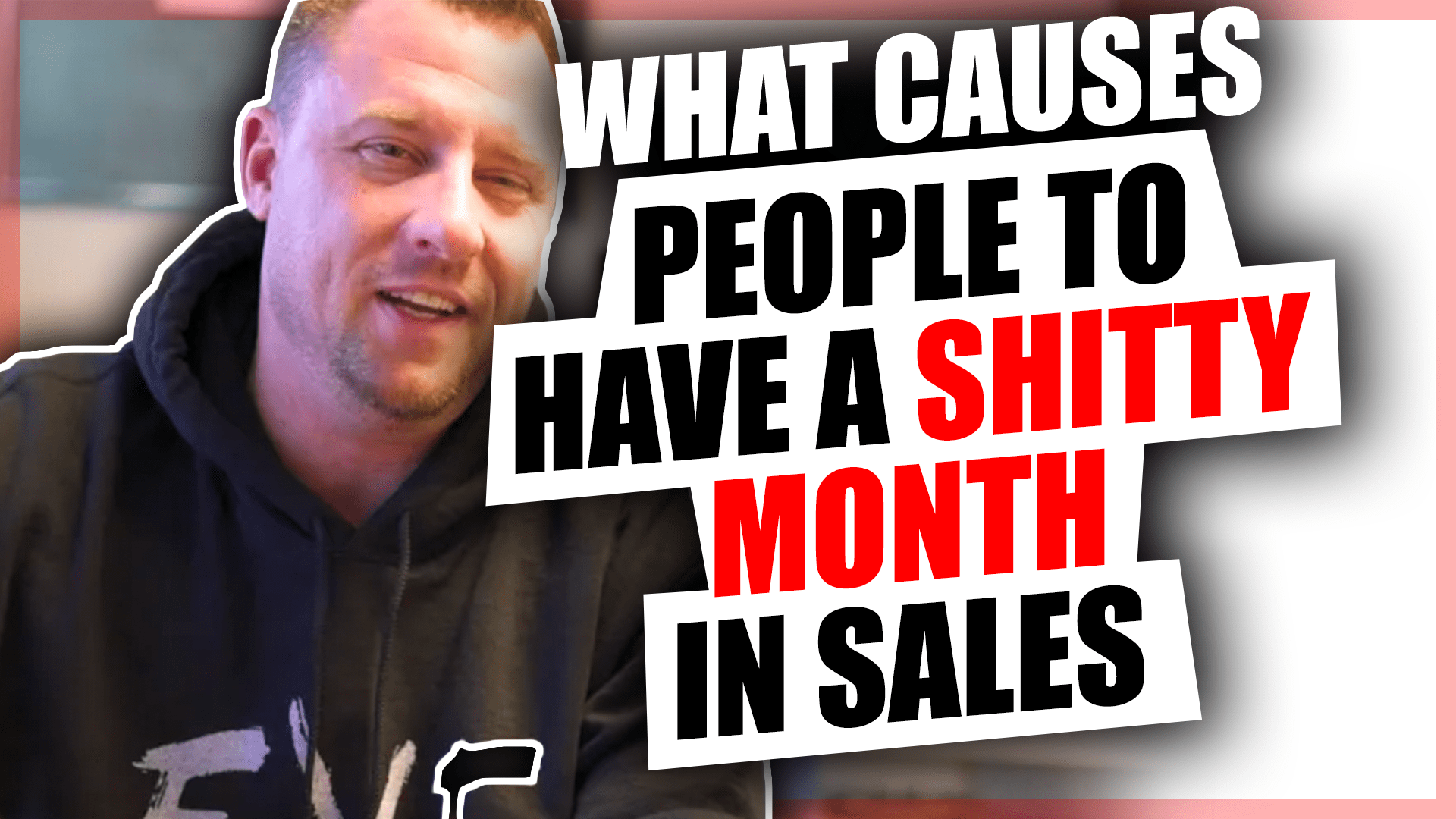 Causes people to have a shitty month sales