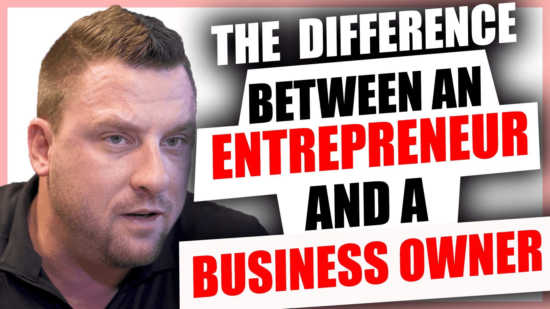 Difference between entrepreneur and business owner