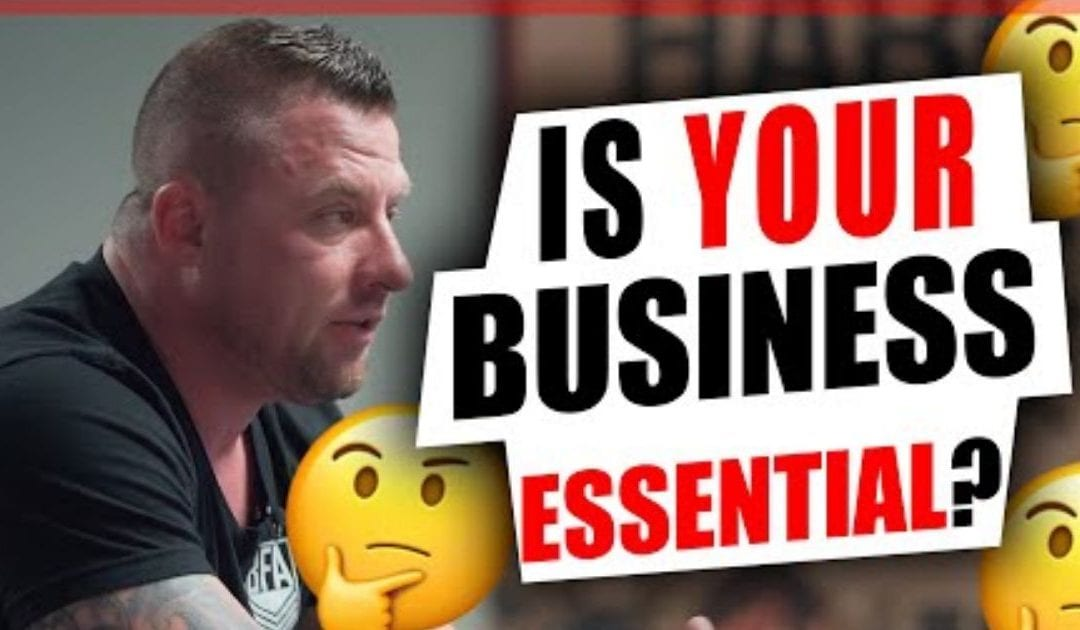 Is Your Business Essential In a Down Economy? [Video]