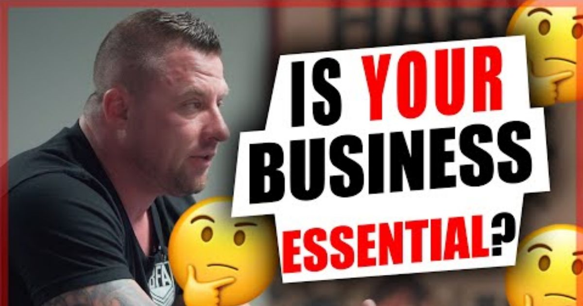 Is your Business Essential