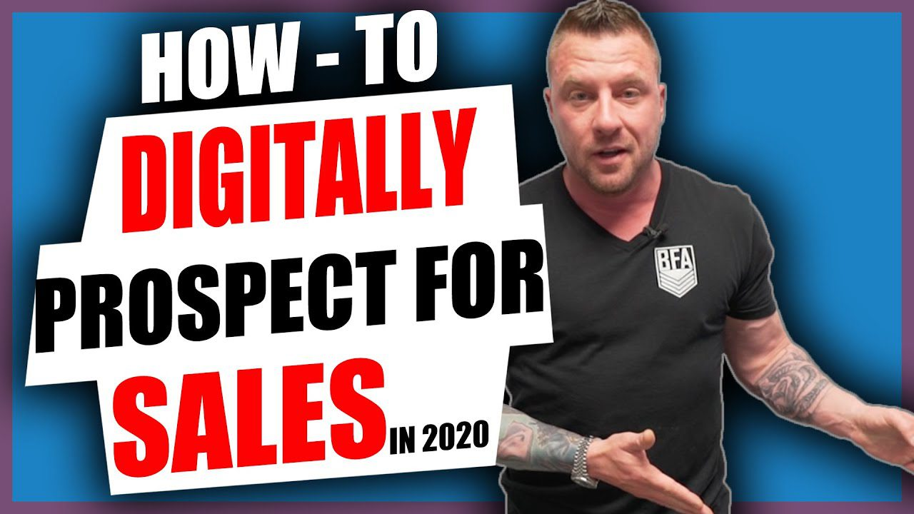 Digitally prospect for sales