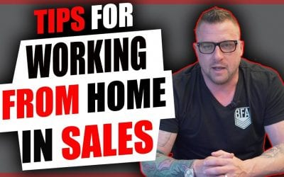Tips For Working From Home While In Sales [Video]
