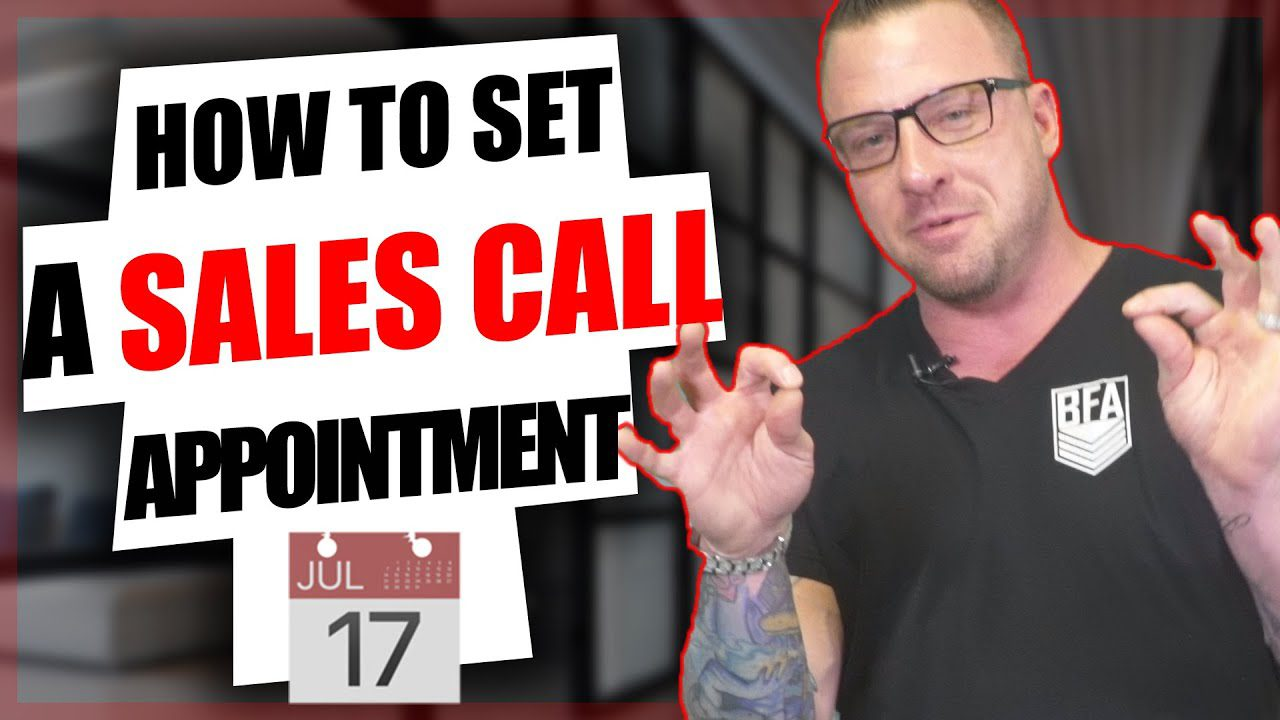 set a sales call appointment