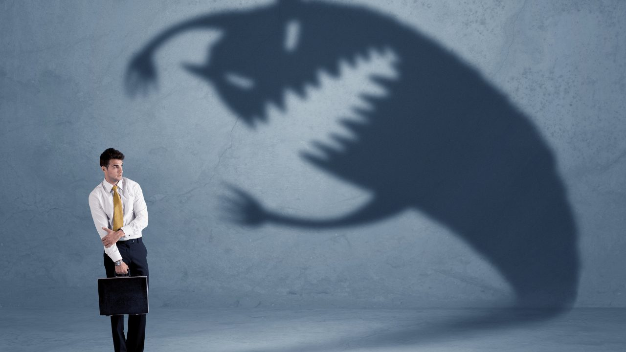 fight fear, sales