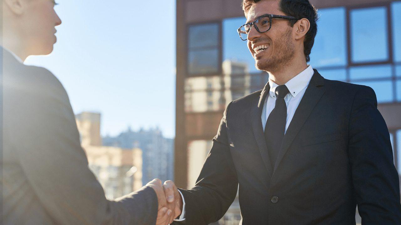 client, handshake, sales, apex